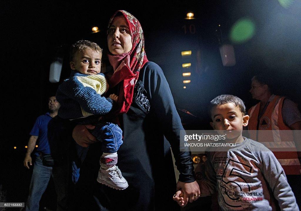 CYPRUS-MIGRANTS-SYRIA-CONFLICT : News Photo