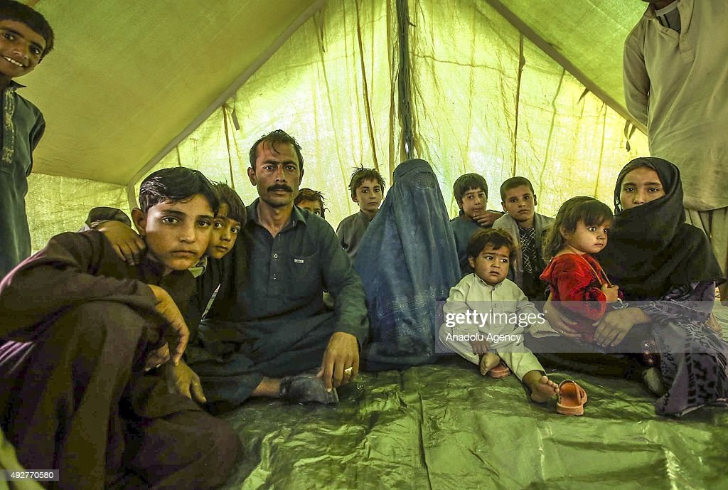 Refugees in Afghanistan : News Photo