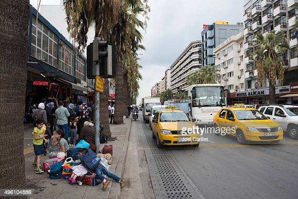 Refugees en route to Europe via Turkey
