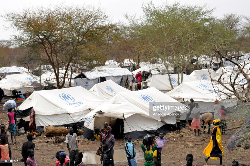 South Sudanese refugees in Ethiopia : Fotografía de noticias