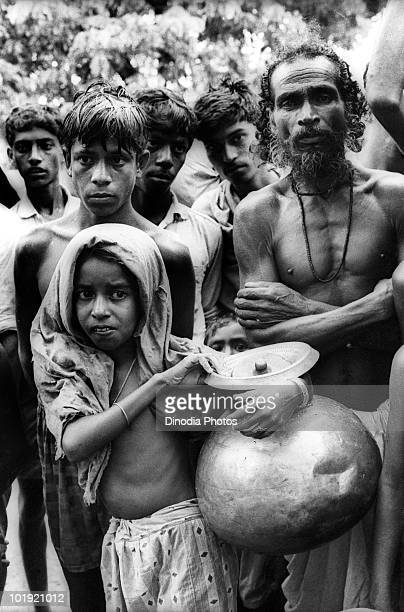 Refugees from Bangladesh arrive at Tripura in NorthEast India during the IndoPakistani War of 1971