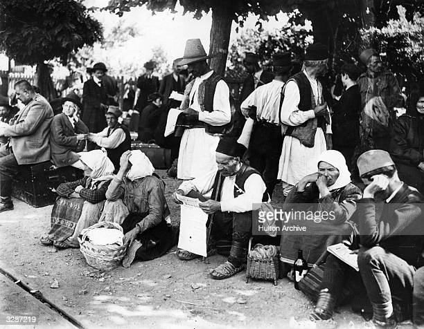 Refugees from Belgrade victims of the Balkan conflict