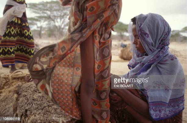 Refugees in Somalia in July, 1992.