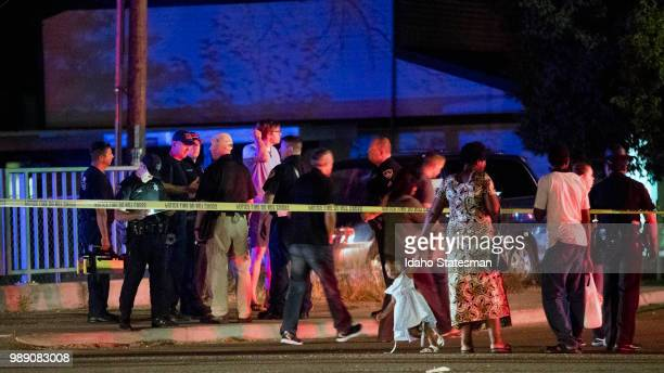 Refugees living in apartments near the corner of State and Wyle streets in Boise Idaho were reported to be among the nine stabbing victims on...
