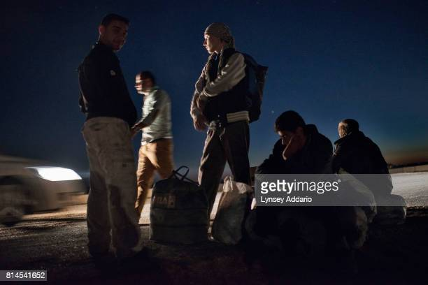 Refugees near the Kilis refugee camp in Turkey The exodus has stretched the resources of the region'u2019s host countries Lebanon Jordan Iraq and...