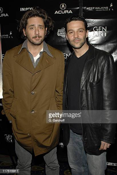 Reg Rogers and David Alan Basche during 11th Annual Gen Art Film Festival Shut Up And Sing Premiere at Clearview Chelsea West Cinema in New York City...