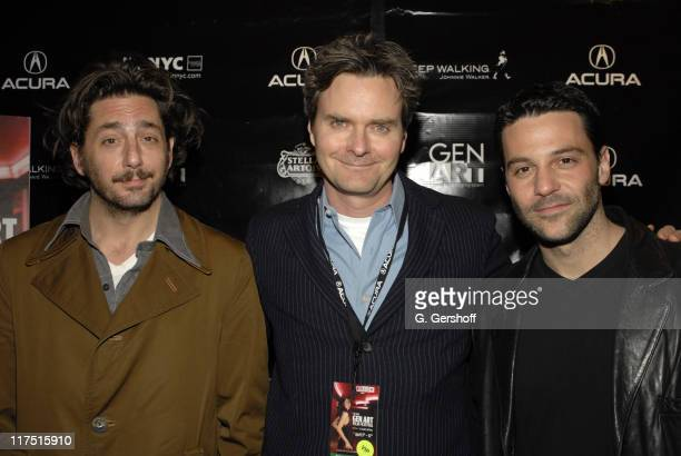 Reg Rogers Bruce Leddy and David Alan Basche during 11th Annual Gen Art Film Festival Shut Up And Sing Premiere at Clearview Chelsea West Cinema in...