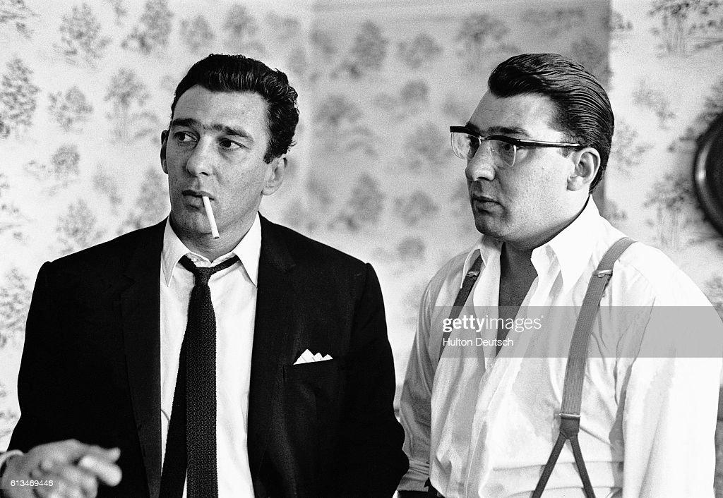 Reggie and Ronnie Kray, ca. 1965 : News Photo