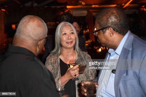 Reg Weaver Noriko Fujinami and Reverend Timothy McDonald attend Norman Lear's 95th Birthday Celebration on December 7 2017 in Los Angeles California