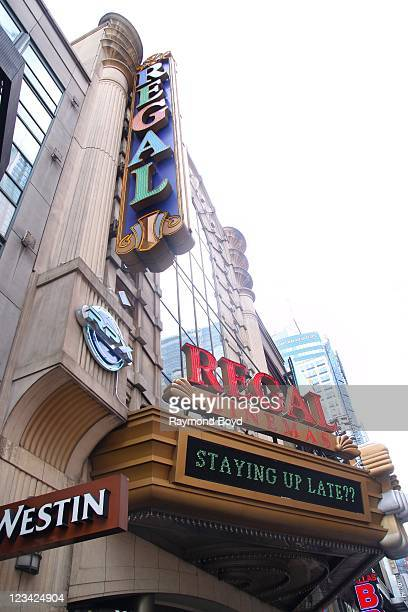 Regal Cinemas in Times Square in New York, New York on AUG 04, 2011.