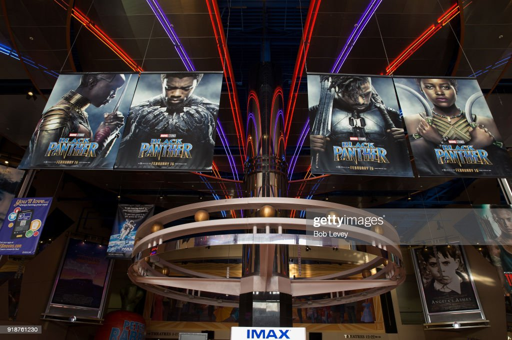 """Boys & Girls Club, Together With IMAX, Regal Entertainment Group, Walt Disney Pictures And Marvel Studios Present Advance Screening Of """"Black Panther"""" : News Photo"""