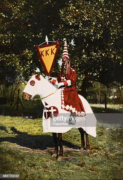 Regalia of the Grand Cyclops of the Ku Klux Klan Alabama USA circa 1903