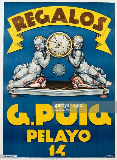 Regalos G Puig Pelayo 14 Poster by Padro