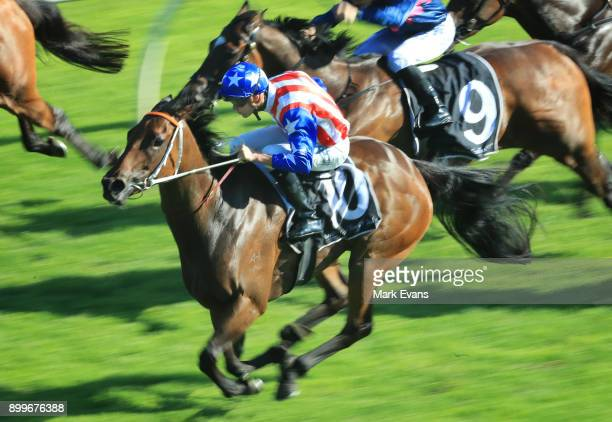 Regan Bayliss on Sugar Bella wins race 9 during Sydney Racing at Rosehill Gardens on December 30 2017 in Sydney Australia