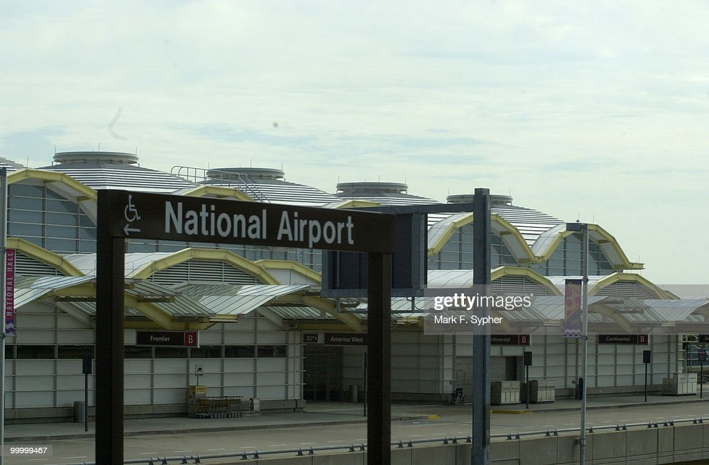 Regan National Airport, Tuesday September 17, 2001.