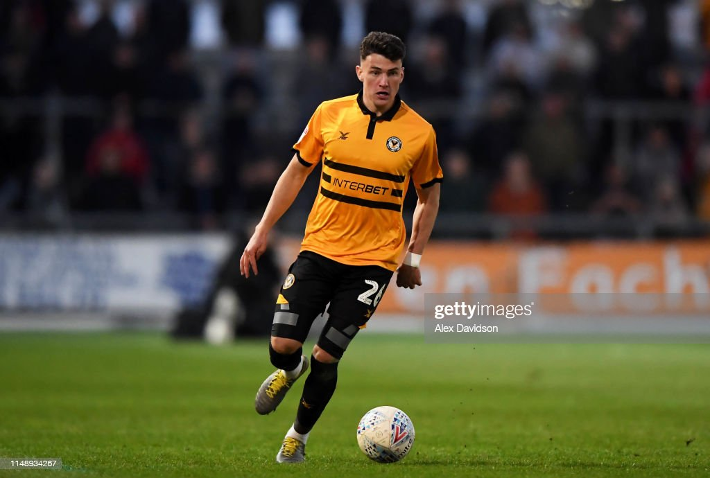 Newport County v Mansfield Town - Sky Bet League Two Play-off Semi Final: First Leg : News Photo