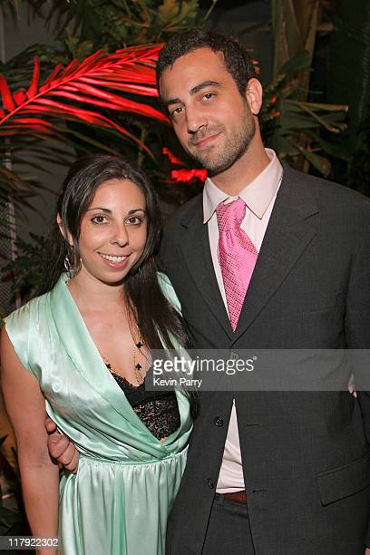 Regan Rosson and Michael Kuhm executive producer during And1 Mixtape Tour Volume 9 Premiere After Party at White Orchid in Hollywood California...