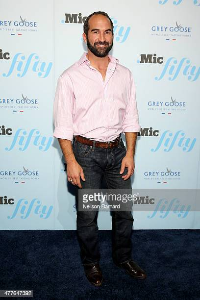 Regan Turner attends GREY GOOSE Vodka Hosts The Inaugural Mic50 Awards at Marquee on June 18 2015 in New York City
