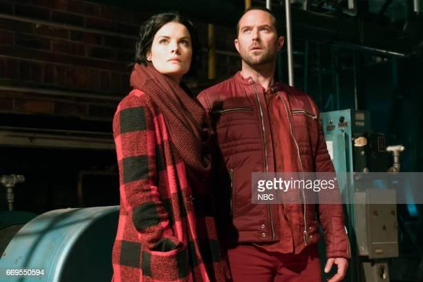 BLINDSPOT Regard A Mere Mad Rager Episode 219 Pictured Jaimie Alexander as Jane Doe Sullivan Stapleton as Kurt Weller