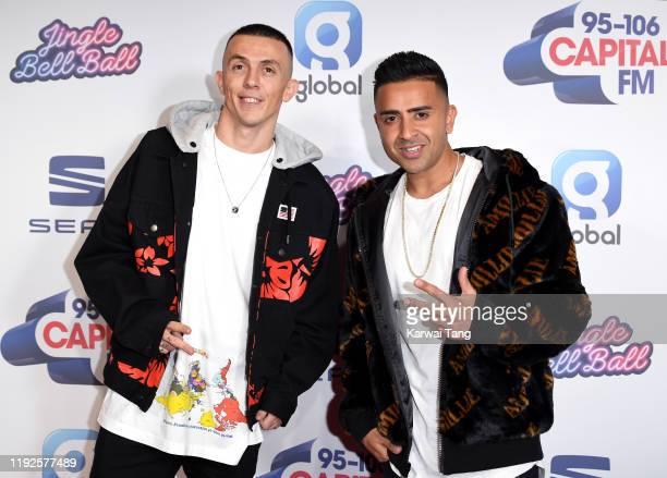 Regard and Jay Sean attend Capital's Jingle Bell Ball 2019 at The O2 Arena on December 07 2019 in London England