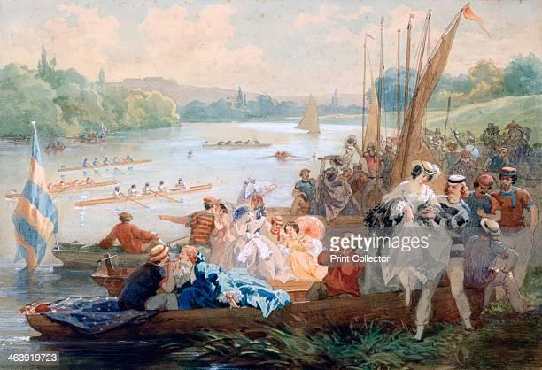 'A Regatta at Asnieres During the Second Empire' c18681905
