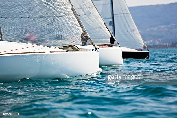 regatta - sailing team stock pictures, royalty-free photos & images