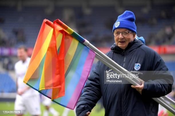 Regenboogweekend in Pro League voor diversiteit en respect / Weekend arcenciel en Pro League en faveur de la diversité et du respect / brassard...
