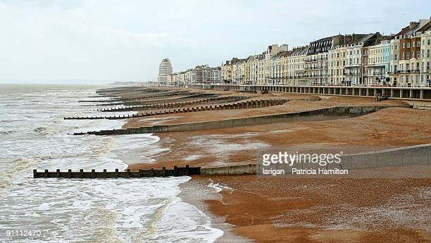 regency hastings - hastings stock photos and pictures