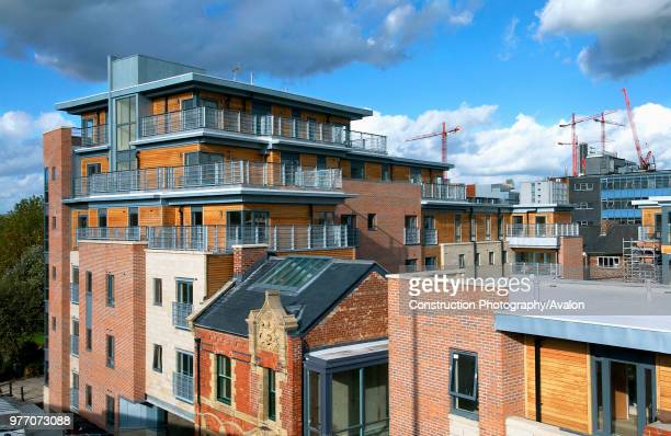 Regeneration of Manchester City Centre Example of a building using sustainable features timber cladding