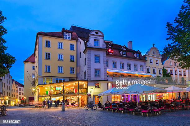 regensburg, germany - regensburg stock photos and pictures
