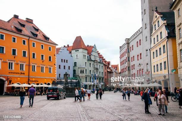 レーゲンスブルク旧市街 - レーゲンスブルク ストックフォトと画像