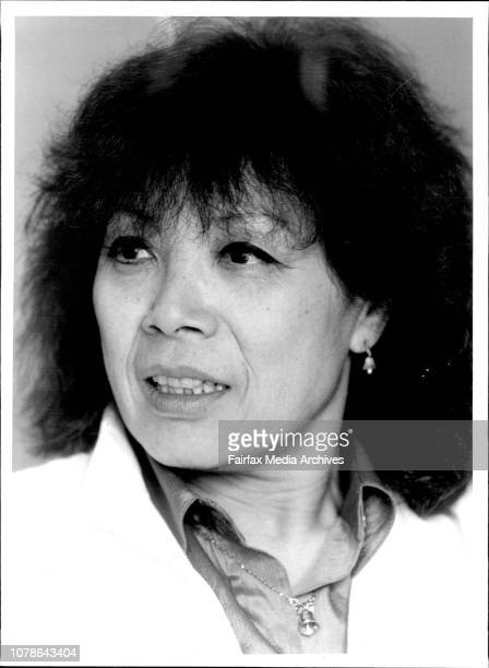 Len Tabackin and Toshiko Akiyoshi in their hotel room at the Regent March 11 1985