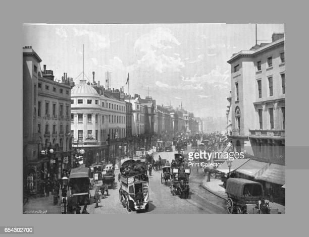 Regent Street London c1900 Regent Street is a major shopping street in the West End of London It is named after George the Prince Regent and was...