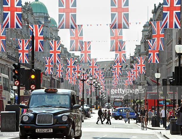 regent street - ロンドン オックスフォード・ストリート ストックフォトと画像