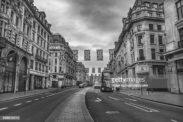 Regent Street Union Jack Flags