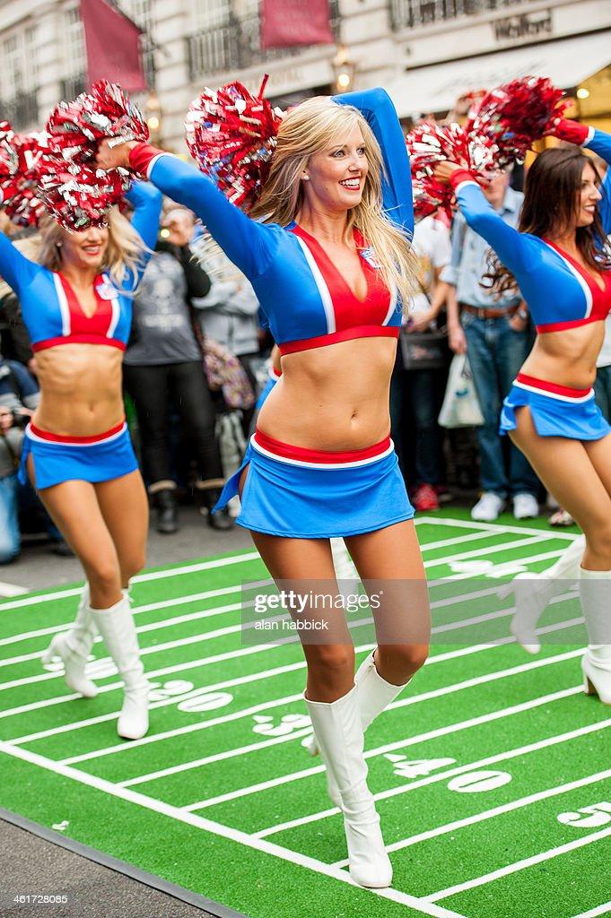 NFL Regent Street : News Photo