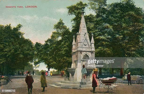 Regents Park, London, circa 1910.. Artist: Unknown.