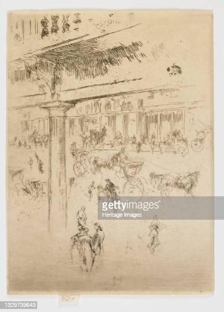 Regent's Quadrant, 1880-1881. Artist James Abbott McNeill Whistler.