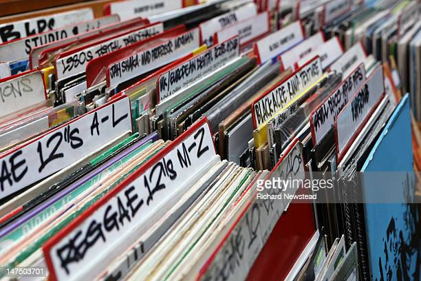 reggae and dub records - reggae stock photos and pictures