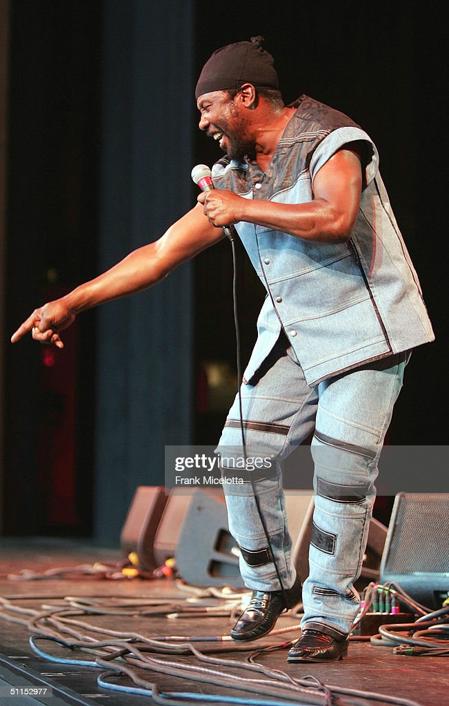 Reggae artist 'Toots' performs onstage at the 'Roots, Rock, Reggae Tour 2004' at the Filene Center August 8, 2004 in Vienna, Virginia