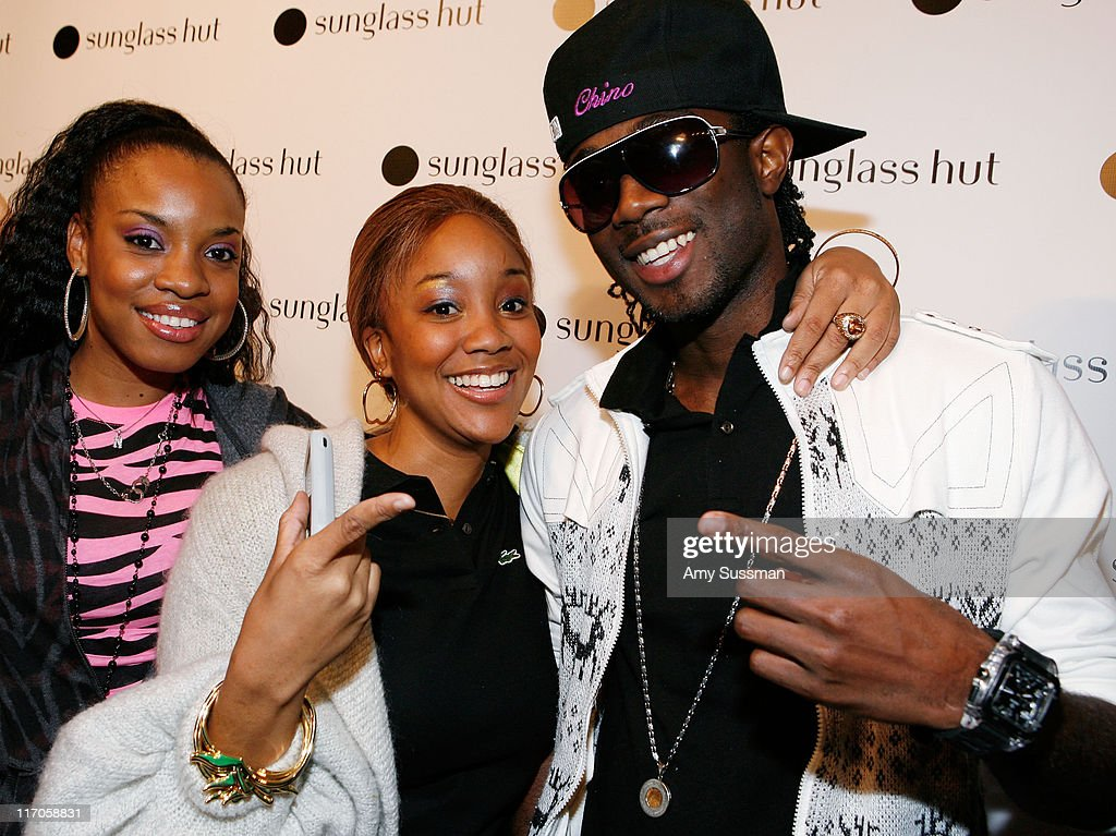 Reggae artists Natalie Storm, Tifa and Chino attend the launch of