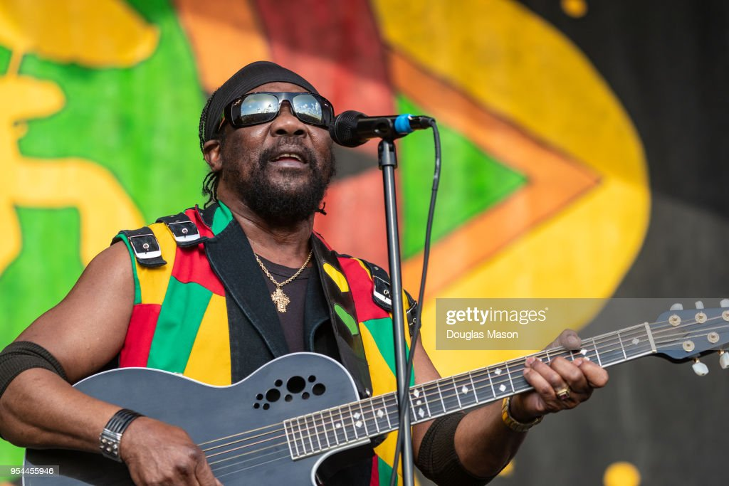 Reggae artists Toots and the Maytals perform on the Congo Square