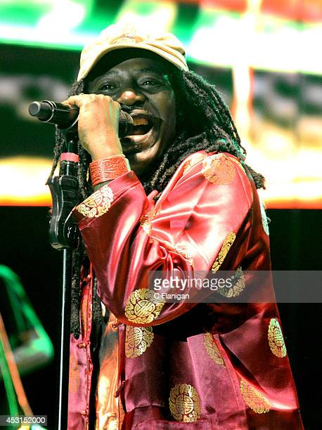 Reggae legend Alpha Blondy performs during the 30th Annual Reggae On The River Festival on August 3 2014 in Piercy California
