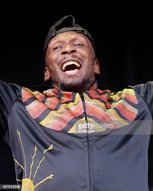 Reggae Legend Jimmy Cliff performs during the 2014 Austin City Limits Music Festival at Zilker Park on October 10 2014 in Austin Texas