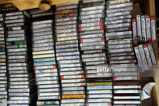 Reggae scholar Roger Steffens shows the six rooms of his home in Los Angeles where he stores his reggae archives on February 21 2015 This includes...