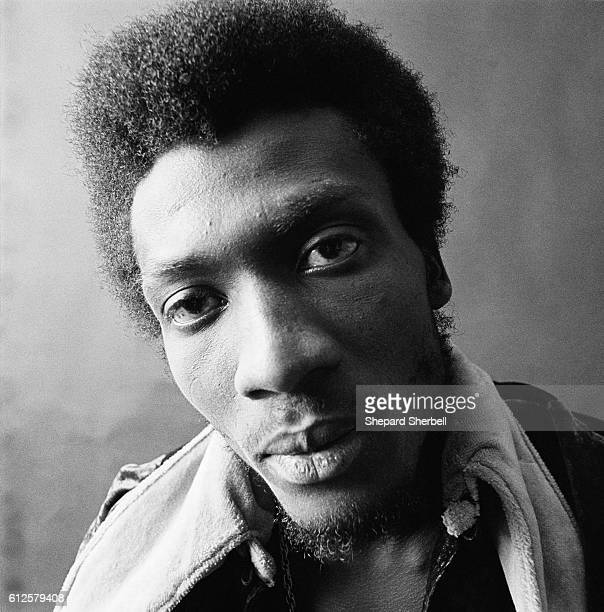 Reggae singer Jimmy Cliff at Island Records' Studio One in London