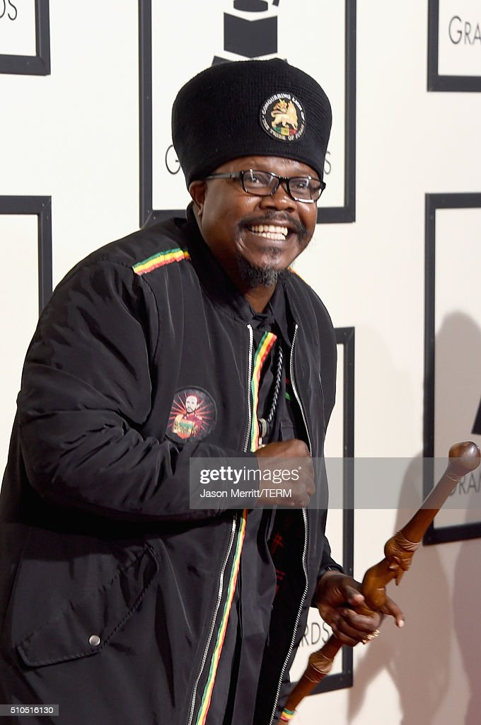 Reggae singer Luciano attends The 58th GRAMMY Awards at Staples Center on February 15, 2016 in Los Angeles, California.