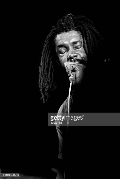 Peter Tosh during Peter Tosh in Concert at the Agora Ballroom in Atlanta August 3 1981 at Agora Ballroom in Atlanta Georgia United States