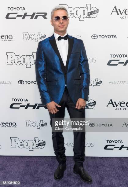 Reggaeton performer Reykon 'El Lider' arrives at People en Espanol's 50 Most Beautiful Gala 2017 at Espace on May 16 2017 in New York City