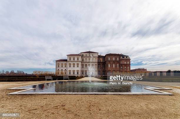 reggia of venaria - venaria reale stock photos and pictures